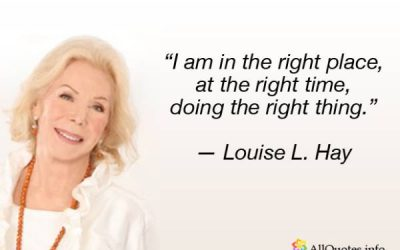 Personal Tribute to Louise L. Hay